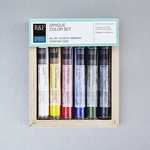 R&F Pigment Stick Opaque 38ml Assorted Colours Set of 6