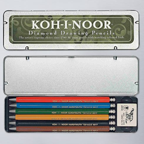 Koh-i-noor Mechanical Pencils Set of 6