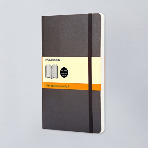 Moleskine Soft Large Ruled Notebook