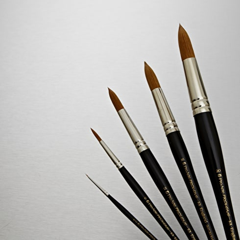Pro Arte Prolene Synthetic Brush Round Series 101 | Professional Artist Brushes | Cass Art