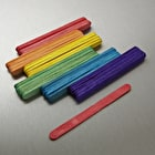 Craft Planet Coloured Lollipop Sticks Pack of 50