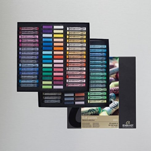 Rembrandt Soft Pastels 60 Half Length and 60 Full Length