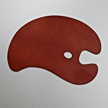Loxley Wooden Palettes Kidney Shaped