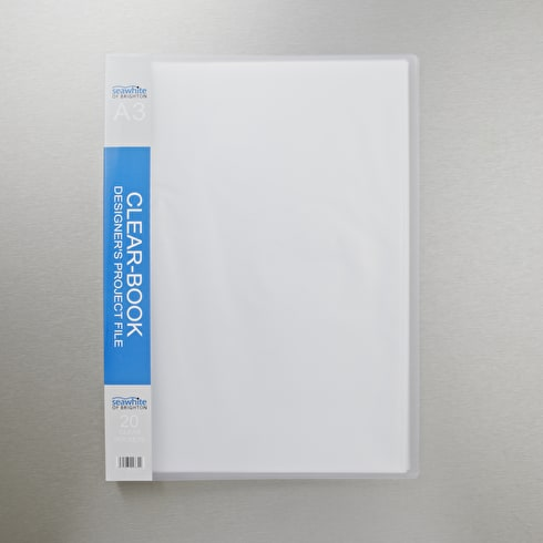 Seawhite Display Book with 20 Clear Pockets