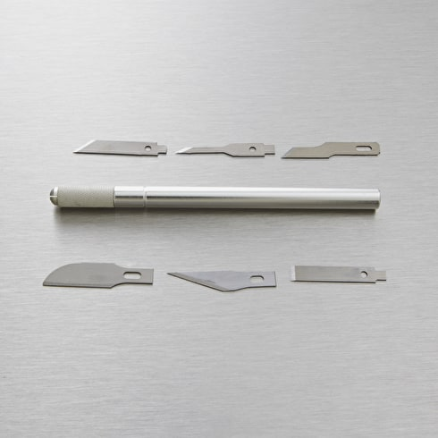 Jakar Hobby Knife with 6 Assorted Blades