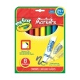 Crayola First Markers Pack of 8 Assorted Colours