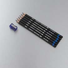 Derwent Watersoluble Sketching Pencil Tin Set of 6