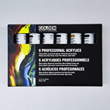 Golden HeavyBody Professional 60ml Assorted Colours Set of 6