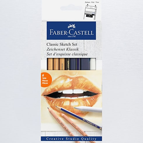 Faber-Castell Goldfaber Classic Sketchset