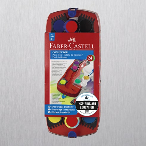 Faber-Castell Connector watercolour Paint Box Set of 24