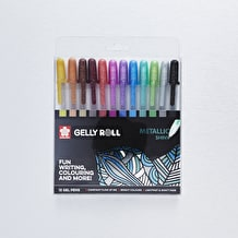 Sakura Gelly Roll Metallic Shiny Set of 12