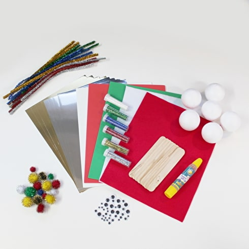 Craft Planet Christmas Activity Bag