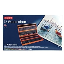 Derwent Watercolour Pencil Wooden Box Set of 72