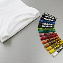 Pentel Fabric Fun Pastel & Tshirt Assorted Colours Set of 15