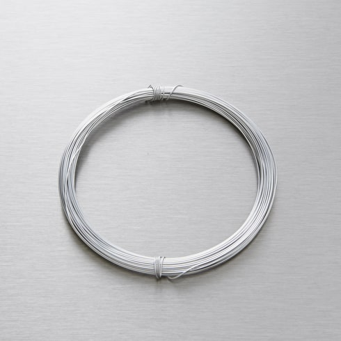 Seawhite Jewellery Wire 0.7mm x 15m Silver Grey | Craft Wire | Cass Art