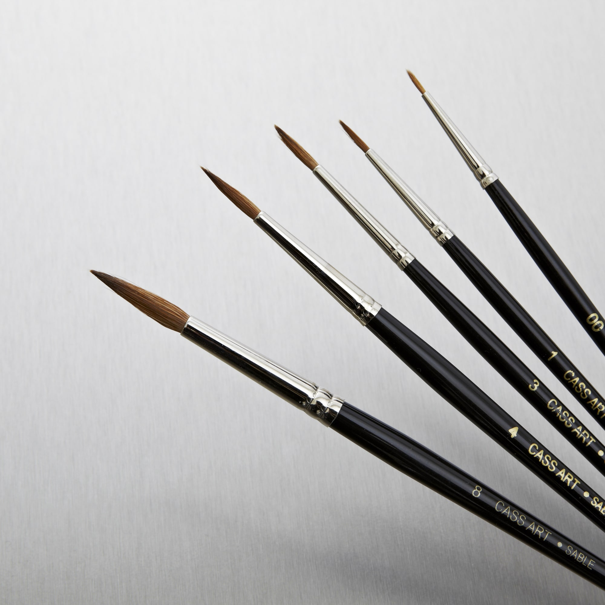 Sable Brush For Cleaning Oil Painting