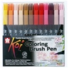 Koi Colour Brush Set 24