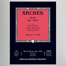 Arches Oil Pad 300gsm NOT 23 x 31cm