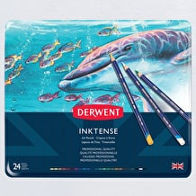 Derwent Inktense Pencil Tin Set of 24