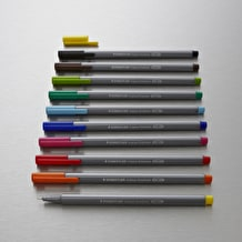 Staedtler Triplus Fineliner Set of 10 Assorted Colours