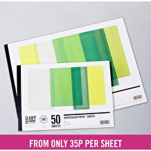 Cass Art Jumbo Smooth Hot Press Pad 300gsm 50 Sheets