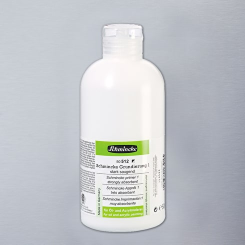 Schmincke Hilfsmittel Strongly Absorbent Primer 1 500ml