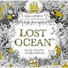 Lost Ocean An Underwater Adventure Colouring Book by Johanna Basford