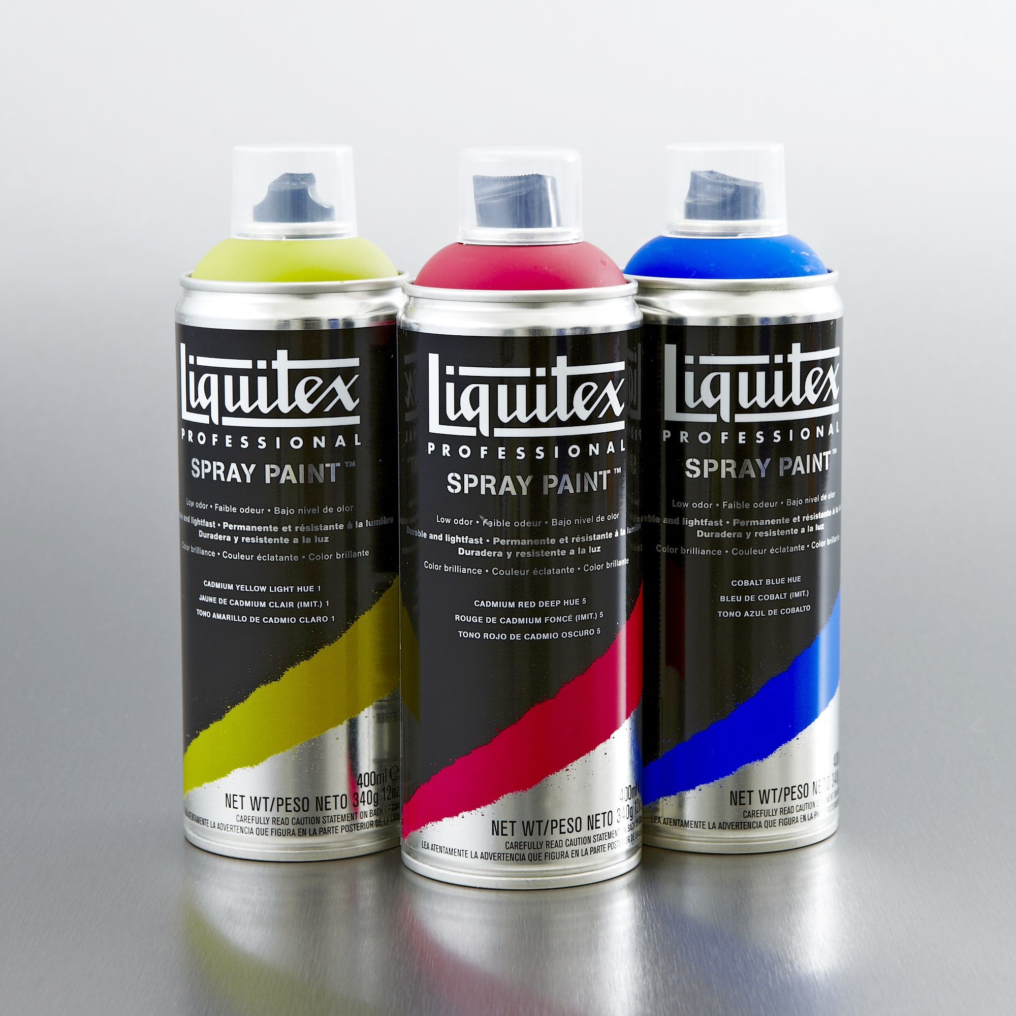 Liquitex Spray Paint 400ml Artist Acrylic Spray Paint