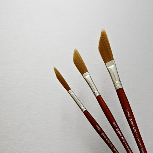 Pro Arte Prolene Synthetic Sword Shaped Liner Brush Series 9A
