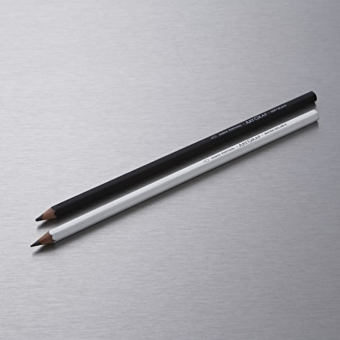 Viarco Large Watersoluble Graphite Pencils Set of 2 Soft B