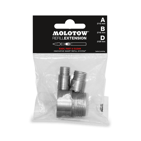 Molotow Refill Extension Tryout Pack of 3