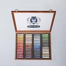Schmincke Pastell Malkästen Pastels Wooden Box Assorted Colours Set of 60