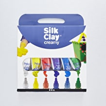 Creativ Creamy Silk Clay 35ml Basic Colours Set of 6