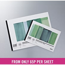 Cass Art Watercolour Smooth Hot Press Pad 300gsm 12 Sheets