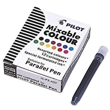 Pilot Parallel Pen Cartridge Assorted Colours Pack of 12