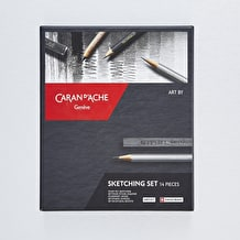 Caran D'ache Sketching Set of 14