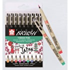 Sakura Pigma Brush Wallet 9 Assorted