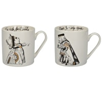 Victoria And Albert Alice In Wonderland Set Of 2 His And Hers Can Mugs
