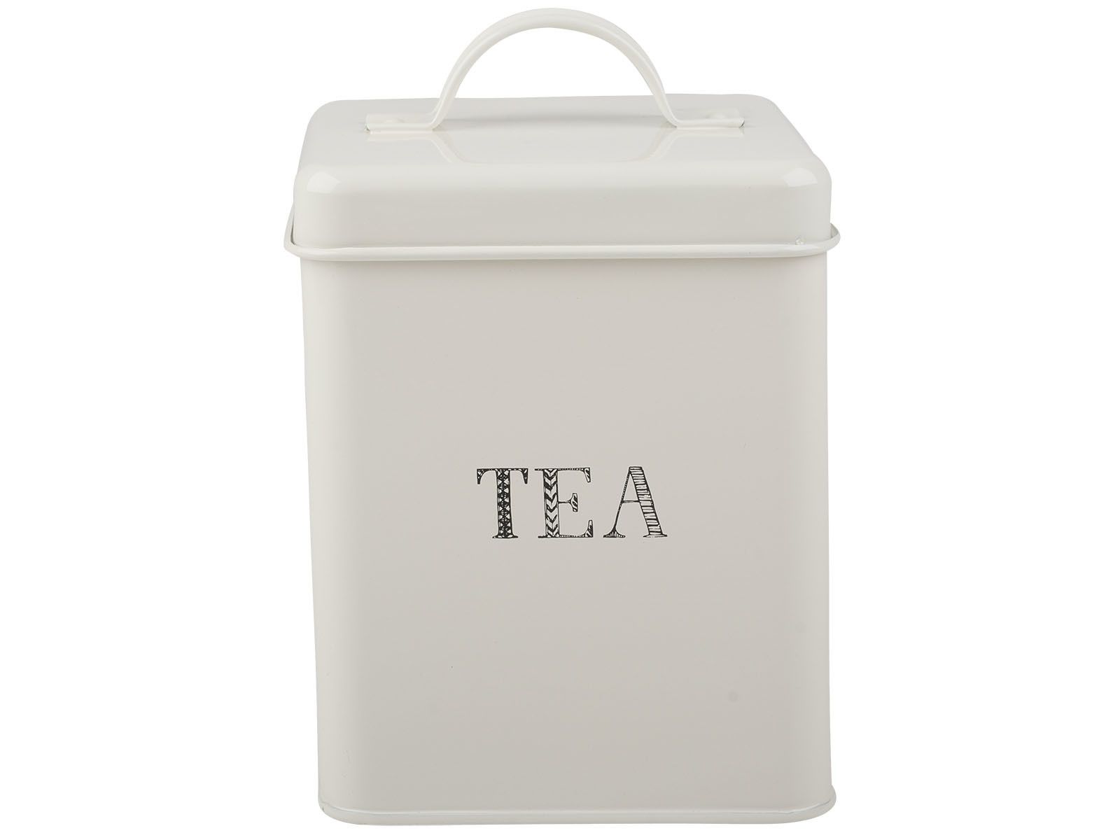 Creative Tops Stir It Up Tea Storage Tin White