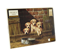 Creative Tops Labrador Puppies Pack Of 4 Large Premium Placemats