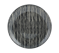 M By Mikasa Cocoon Stripe Dinner Plate