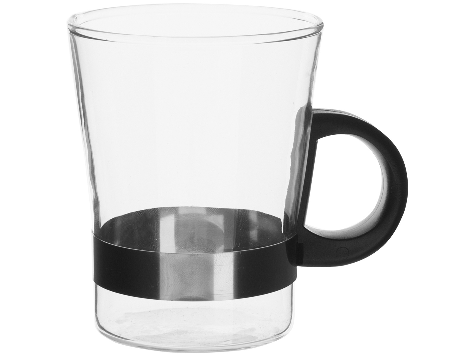 Randwyck Manhattan 250ml Glass Cup With Handle