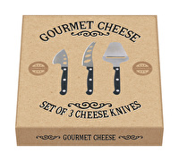 Creative Tops Gourmet Cheese Set Of 3 Cheese Knives