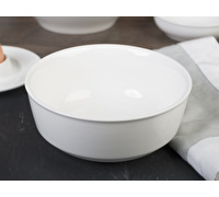 M By Mikasa Whiteware Ridged Cereal Bowl
