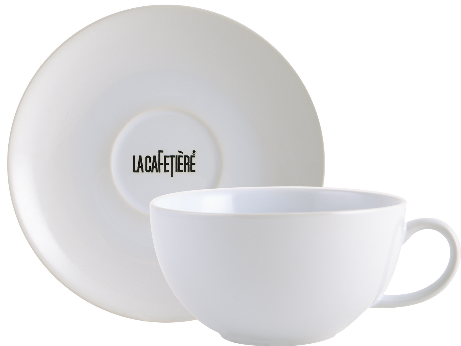 La Cafetiere Decal Range Cappuccino Cup Saucer5