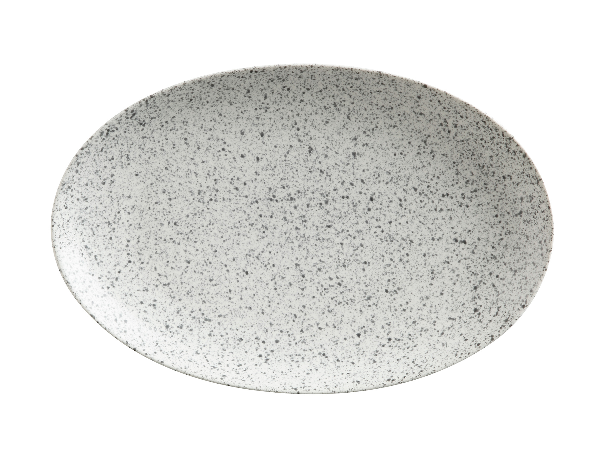 Maxwell & Williams Caviar Speckle 25Cm Oval Plate