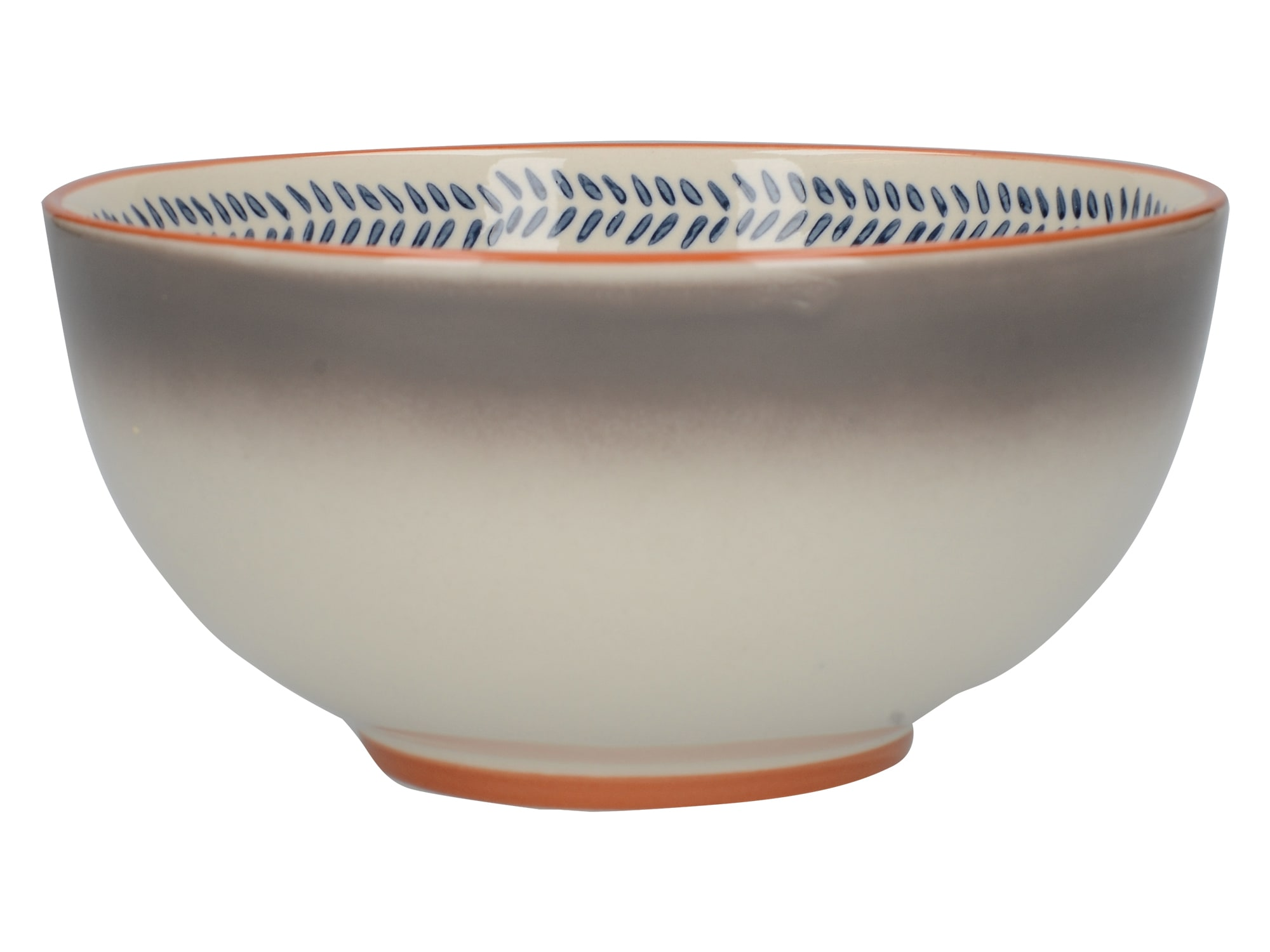 Mikasa Drift Cereal Bowl Ombre Grey