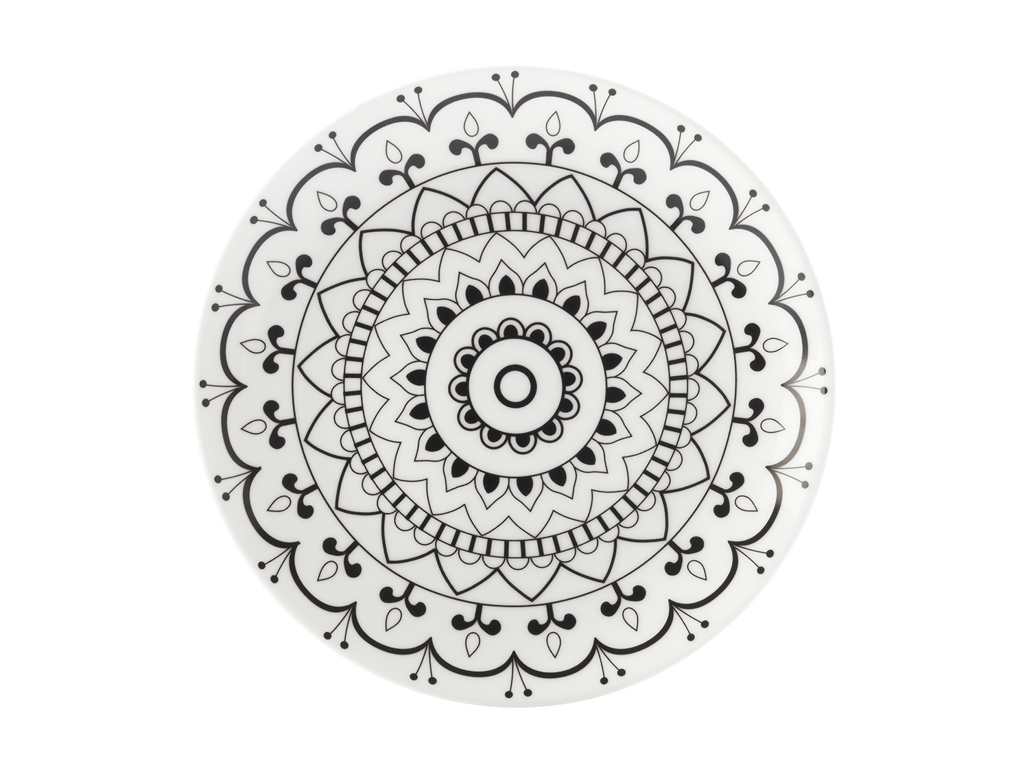 Maxwell & Williams Mindfulness Mandala 19Cm Plate Gift Boxed