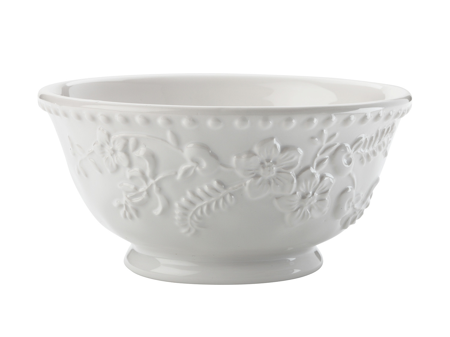 Maxwell & Williams Euphemia Henderson 15.5Cm Footed Bowl White