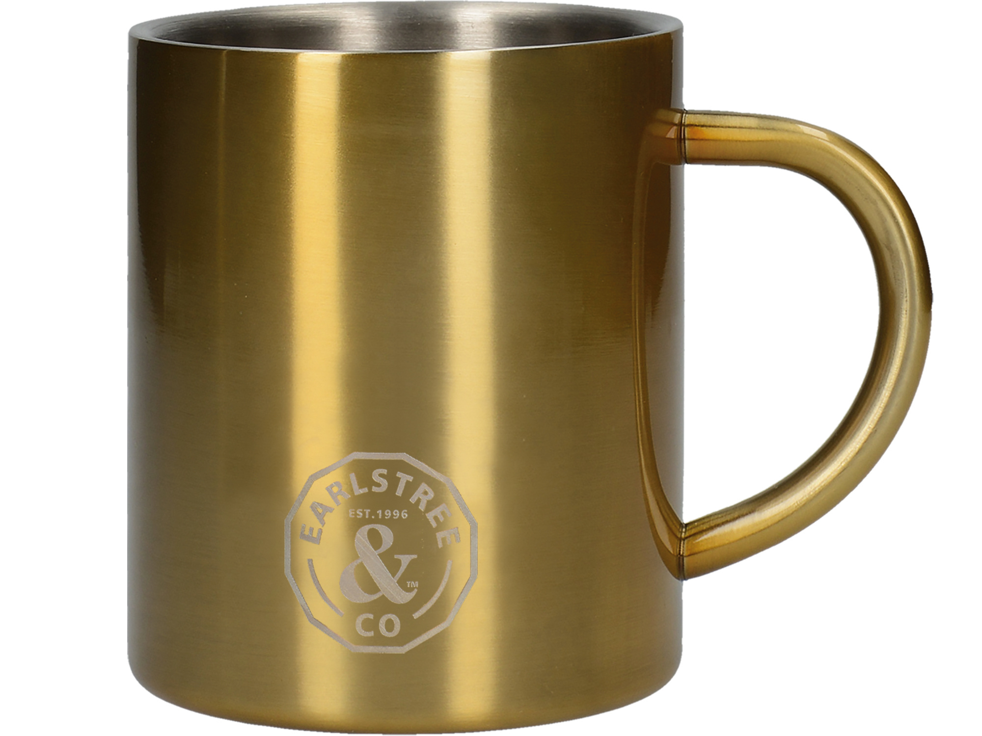 Creative Tops Earlstree & Co Small Stainless Steel Can Mug